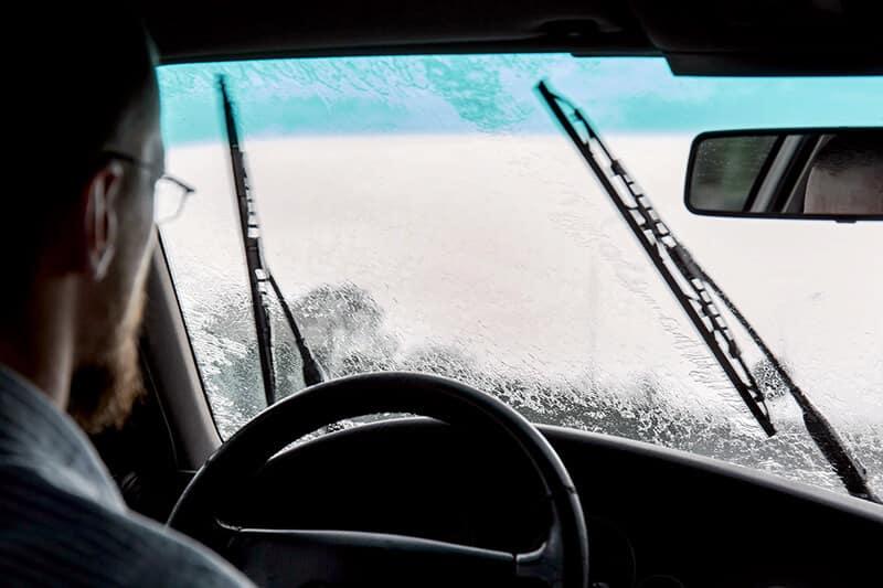 Vern Eide Motorcars Streaking Windshield Image