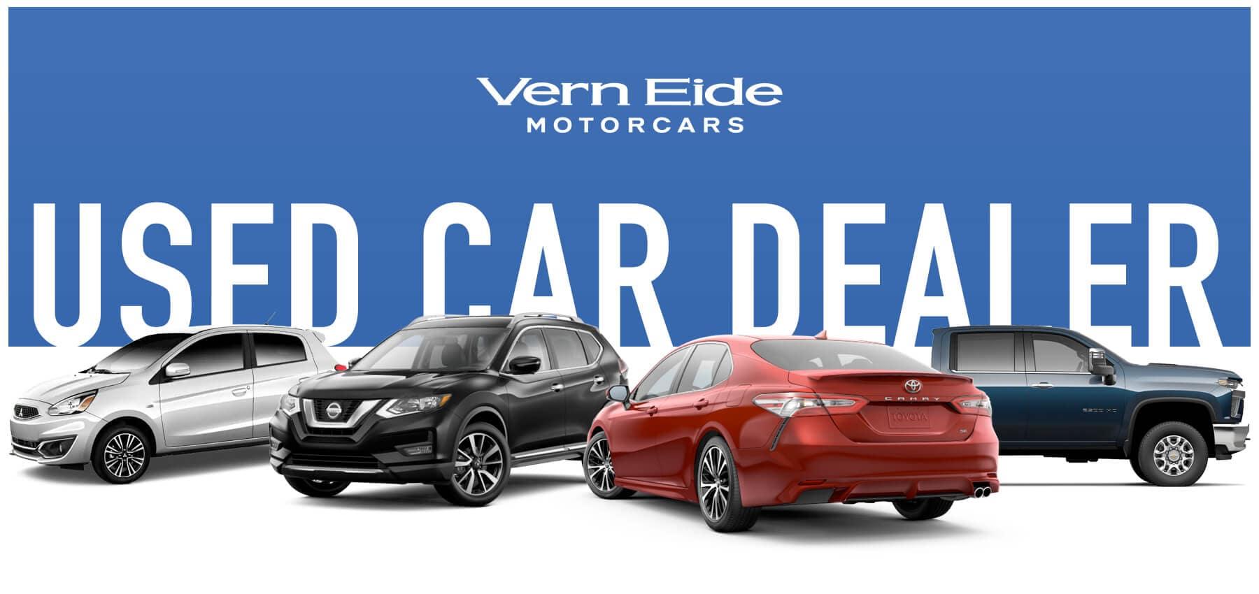 Vern Eide Motorcars Used Car Dealer Button