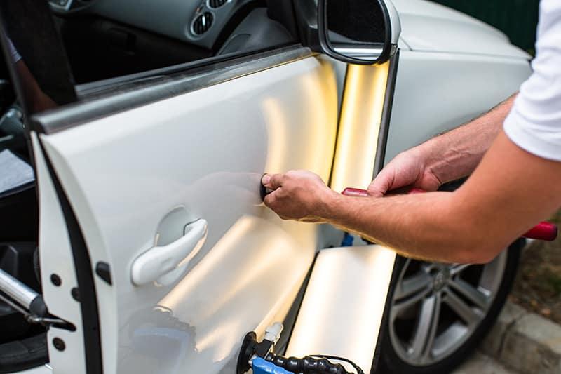Vern Eide Motorcars Vehicle Reconditioning Dent Repair Image