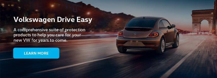 VW Drive Easy Dealer Banner - 880 x 320