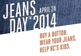 Jeans Day for BC Childrens Hospital Foundation