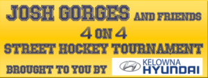 Josh Gorges Street Hockey Tournament