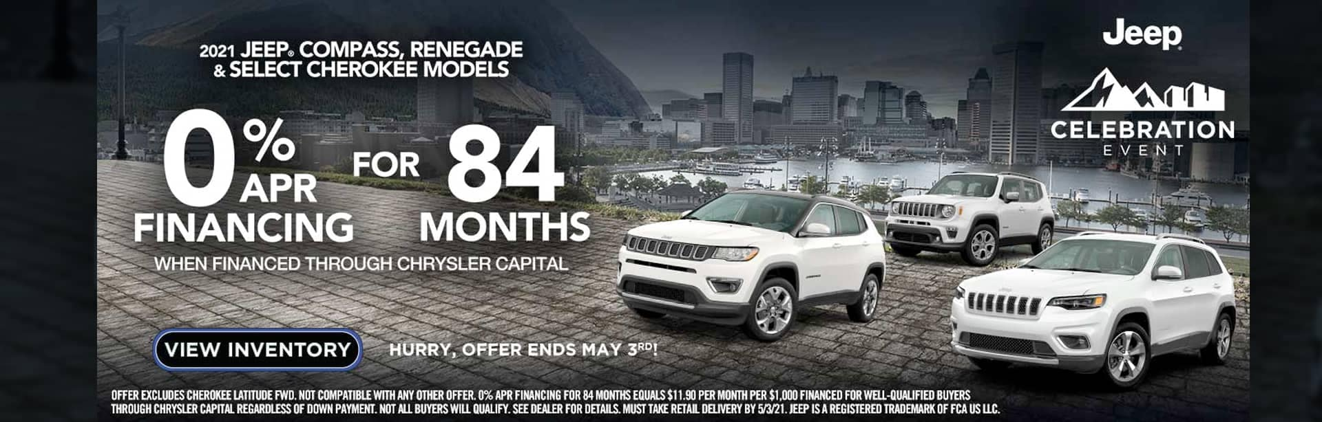 2021 Jeep Compass Renegade & Cherokee