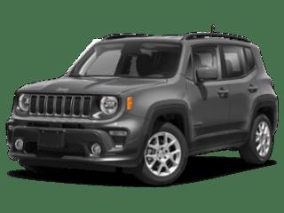 2020 Jeep Renegade angled