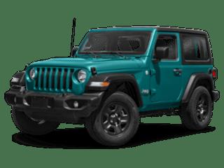 2020 Jeep Wrangler angled