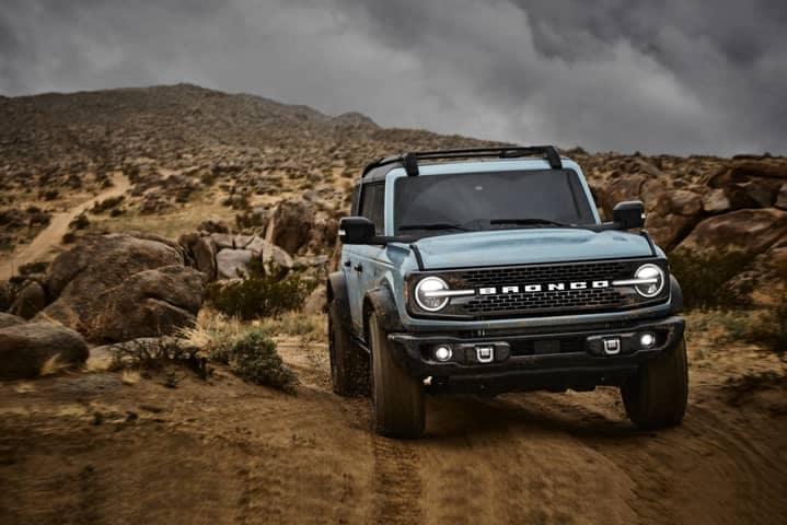 2021 Ford Bronco - Comparison Hero Image