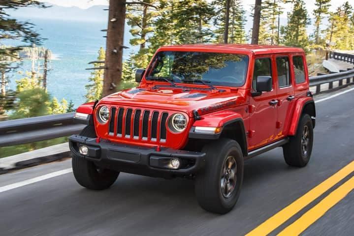 2021 Jeep Wrangler - Comparison Hero Image