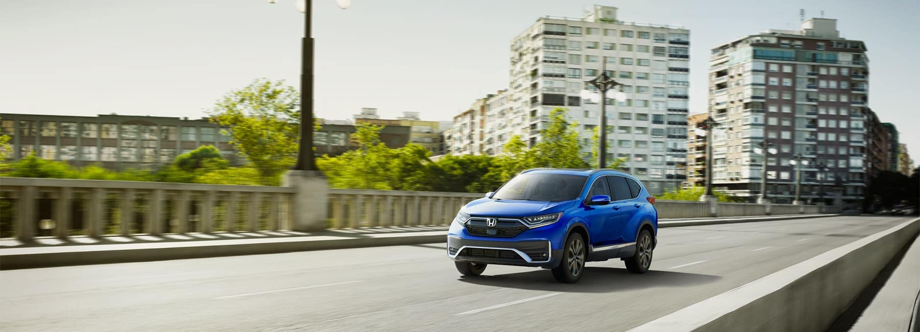 2020 Honda CR-V driving bridge