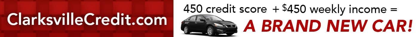 clarksville credit