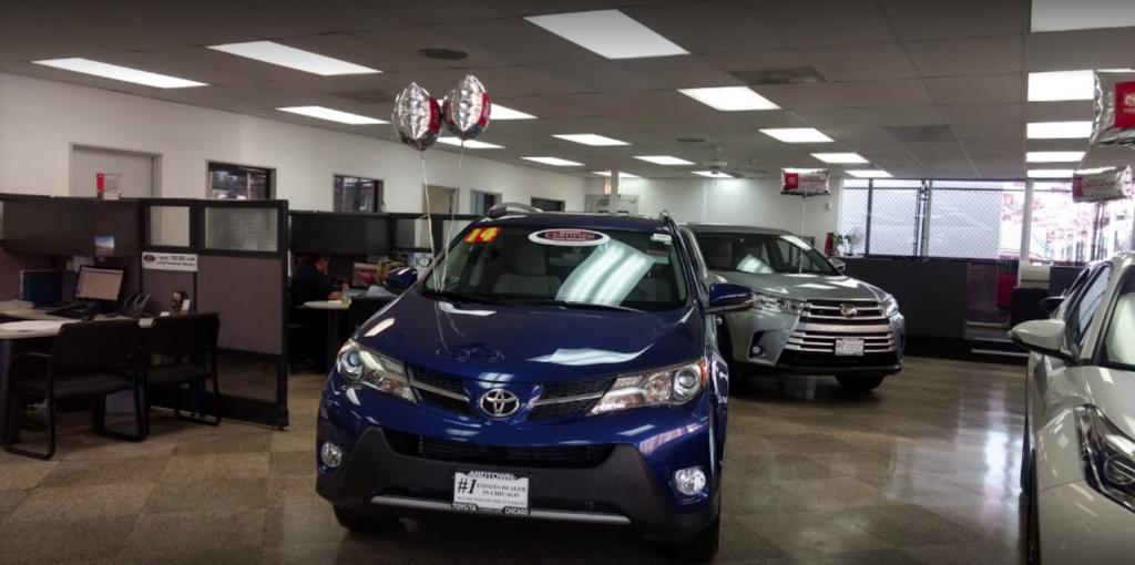 Victory Toyota interior