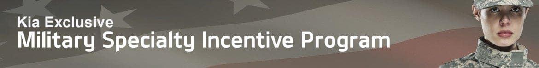 Military Rebate Program banner