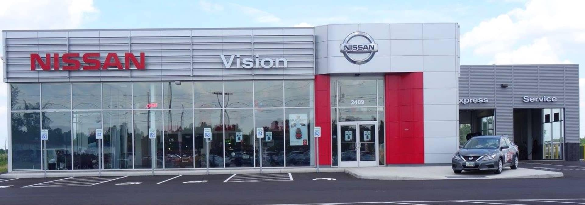 Vision Nissan of Canandaigua dealership