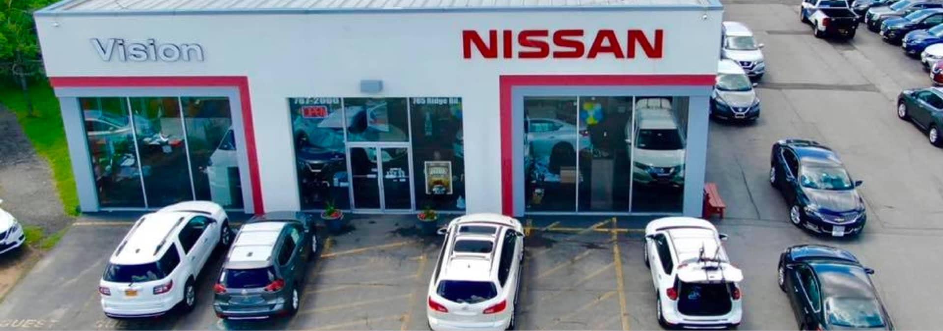 Vision Nissan dealership