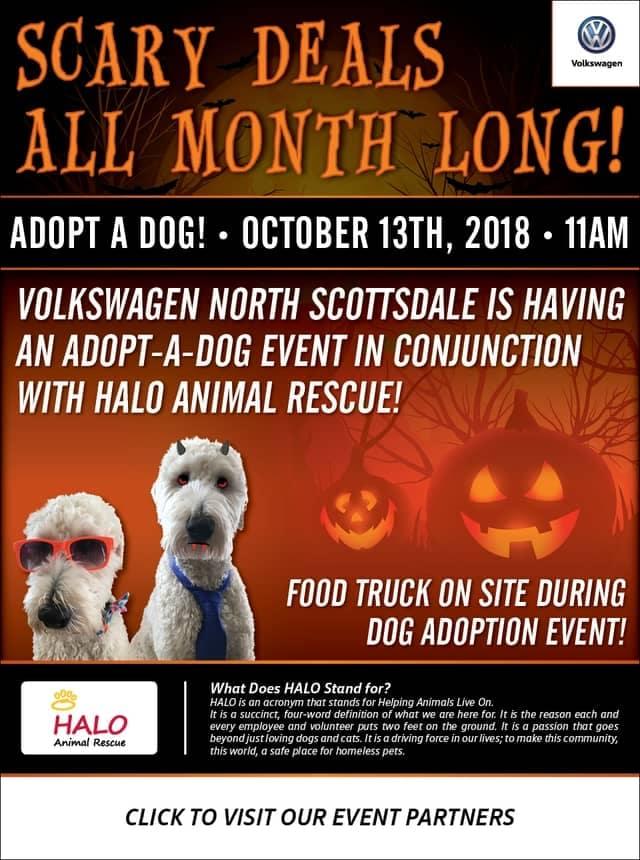 Adopt-A-Dog Event 10-2018
