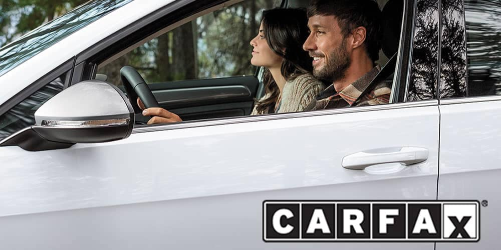 Get a Carfax history report for certified pre-owned volkswagen cars near Libertyville, Evanston, & Highland Park