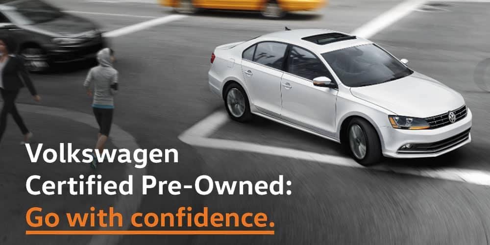 Muller Volkswagen Certified Pre-Owned Program in Highland Park.
