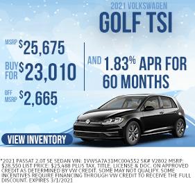 GolfTSI-Purchase-Specials-VWMarion-Feb2021
