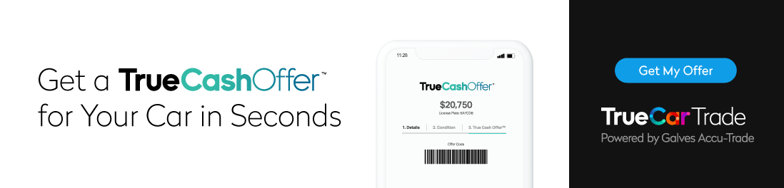 TrueCar Trade Banner