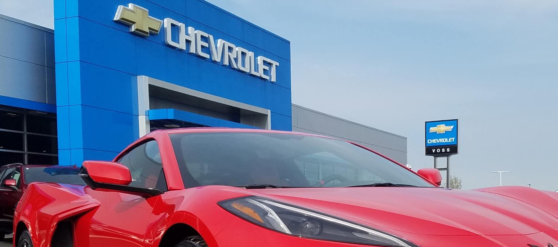 An exterior shot of Voss Chevrolet