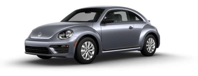 2018 VW Beetle Platinum Gray