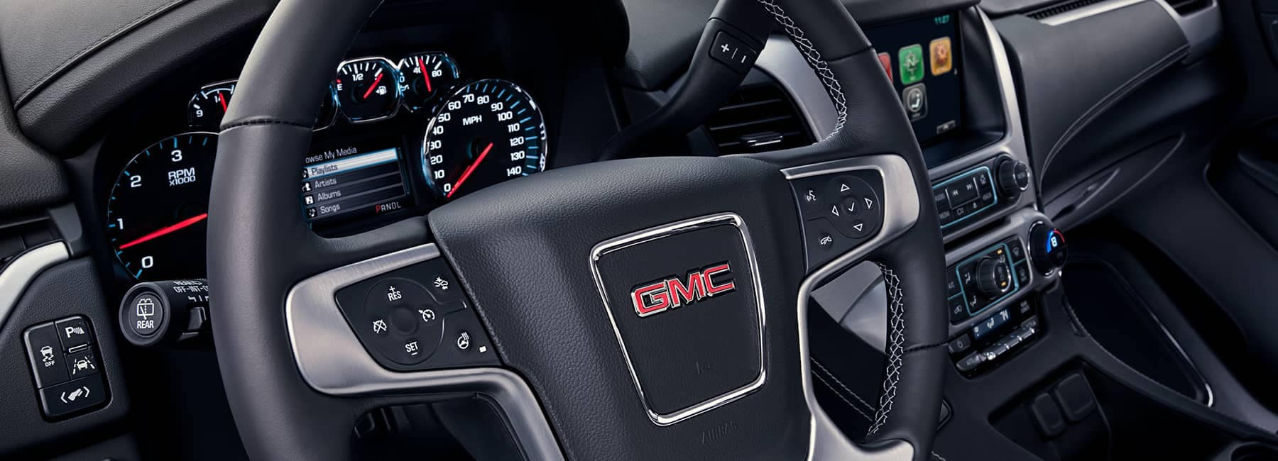 GMC Steering wheel