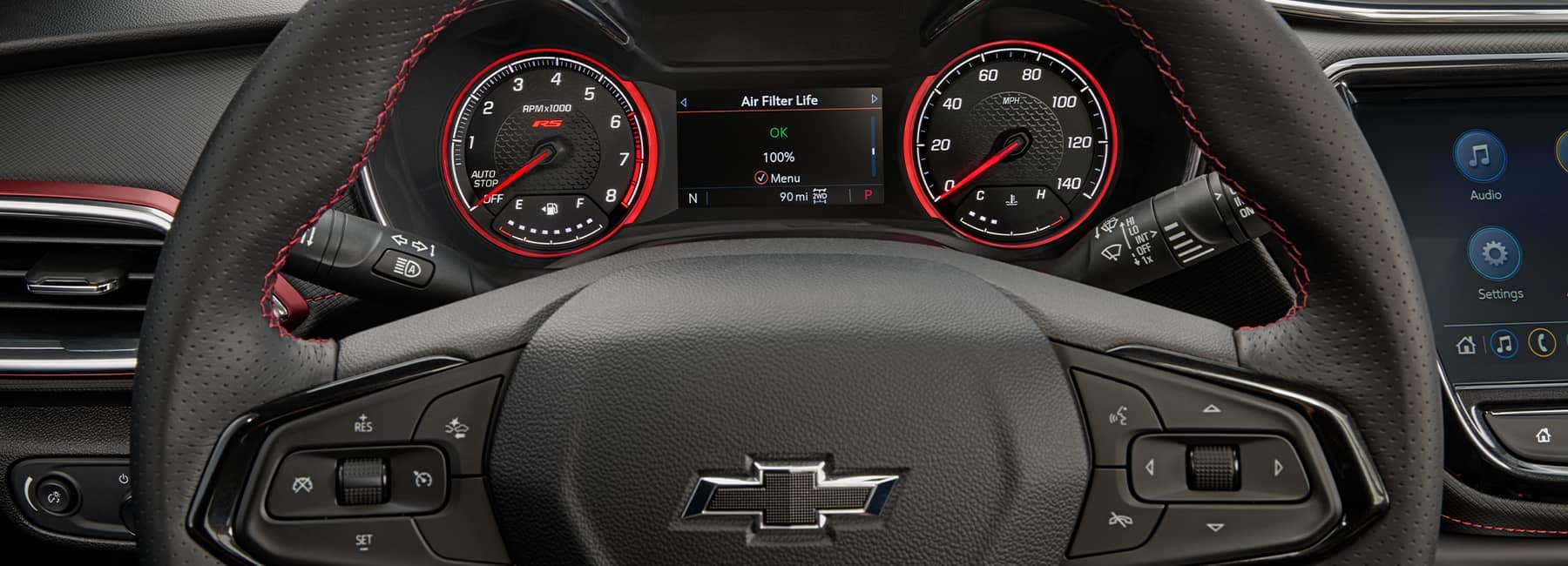 2021 Chevrolet Trailblazer Steering Wheel