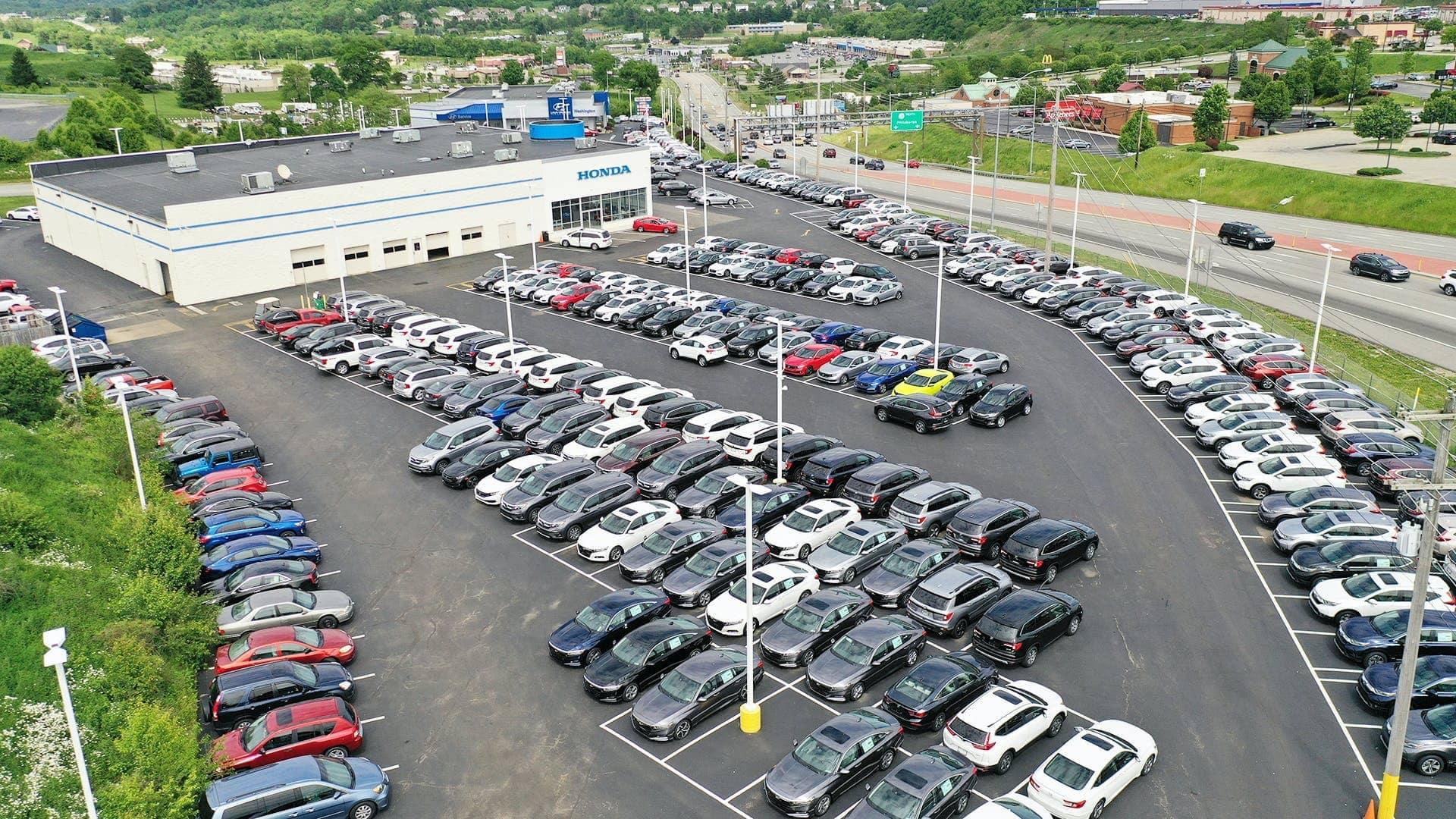 aerial view of dealership 2