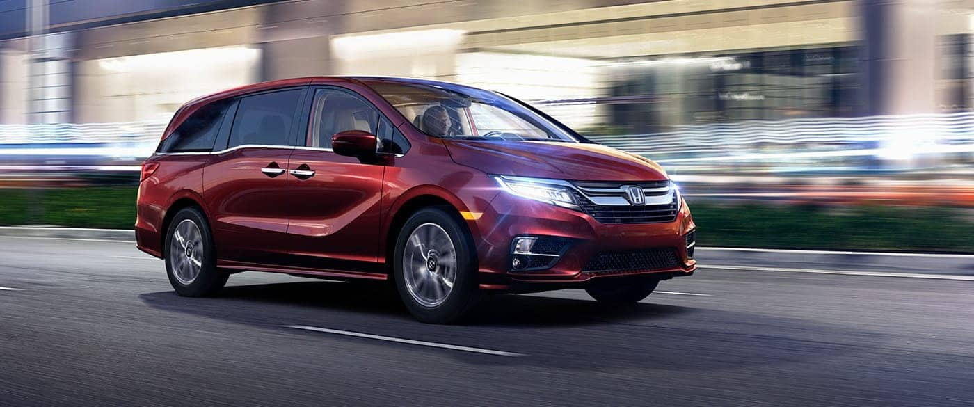 2018-Honda-Odyssey-Red-Side-Front-Exterior