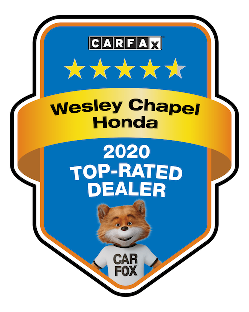 Wesley Chapel Honda Carfax Badge