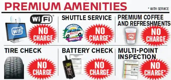amenities with service