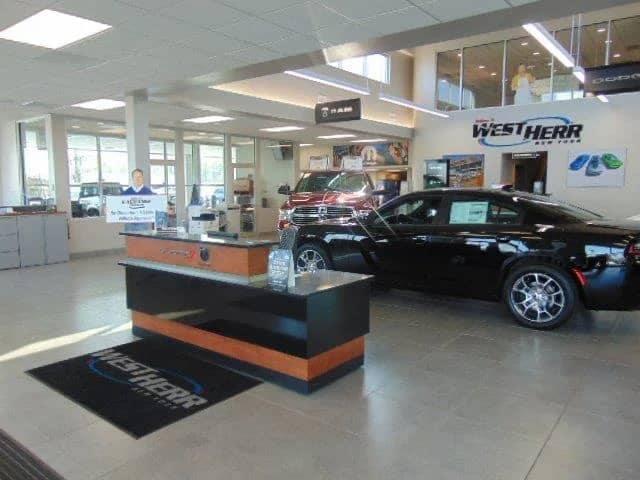 West Herr Chrysler Dodge Ram interior
