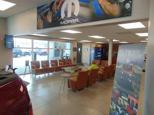 West Herr Chrysler Dodge Ram waiting room