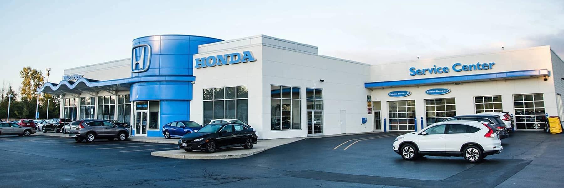 West Herr Honda Dealership front