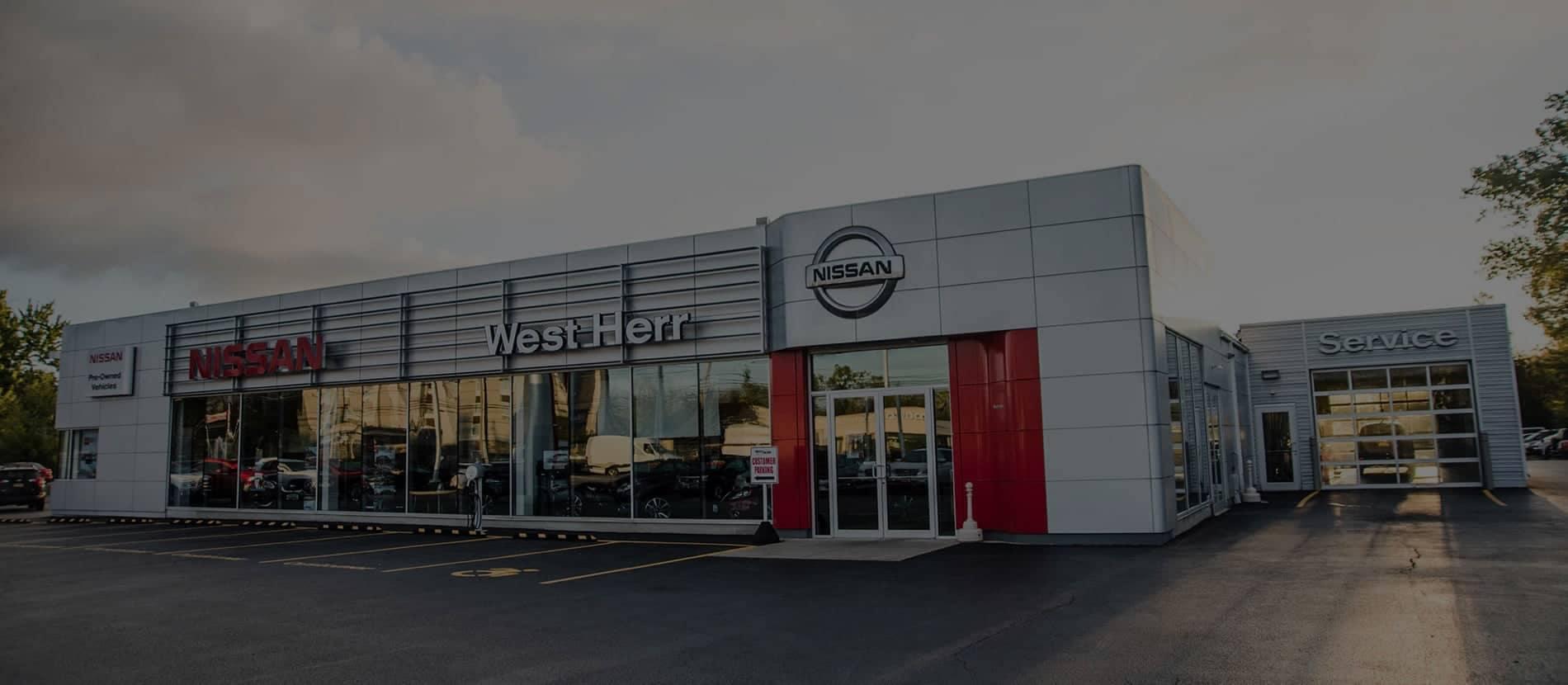 West Herr Nissan lockpot dealership image