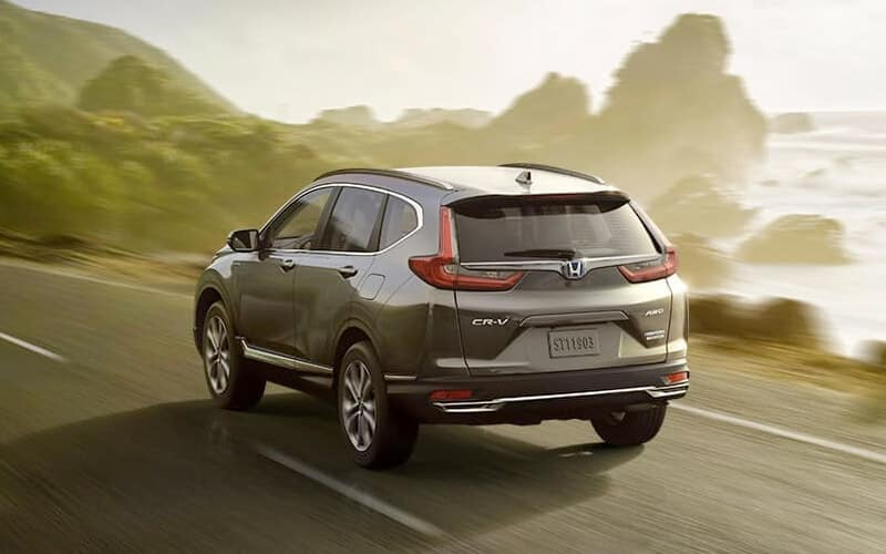 2020 Honda CR-V Hybrid Performance Rear Angle