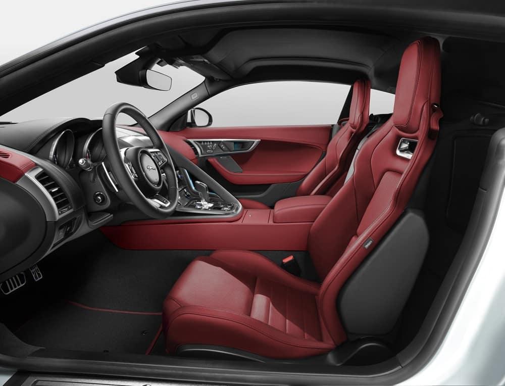 2018 Jaguar F-TYPE Interior
