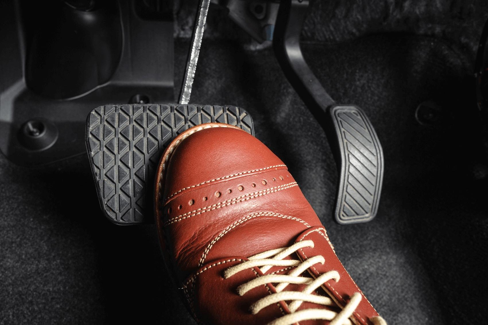 Foot Pressing Brakes