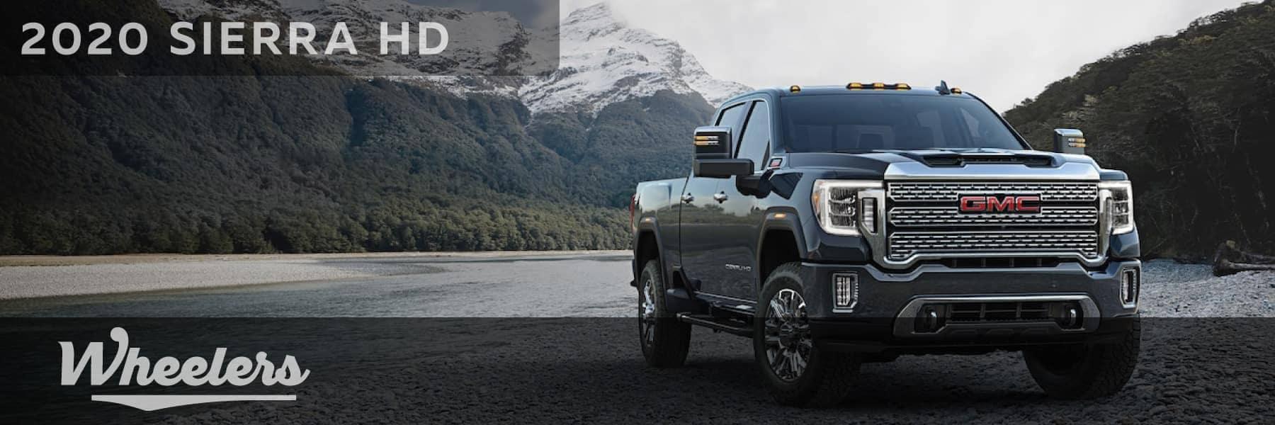 2020 Sierra HD truck