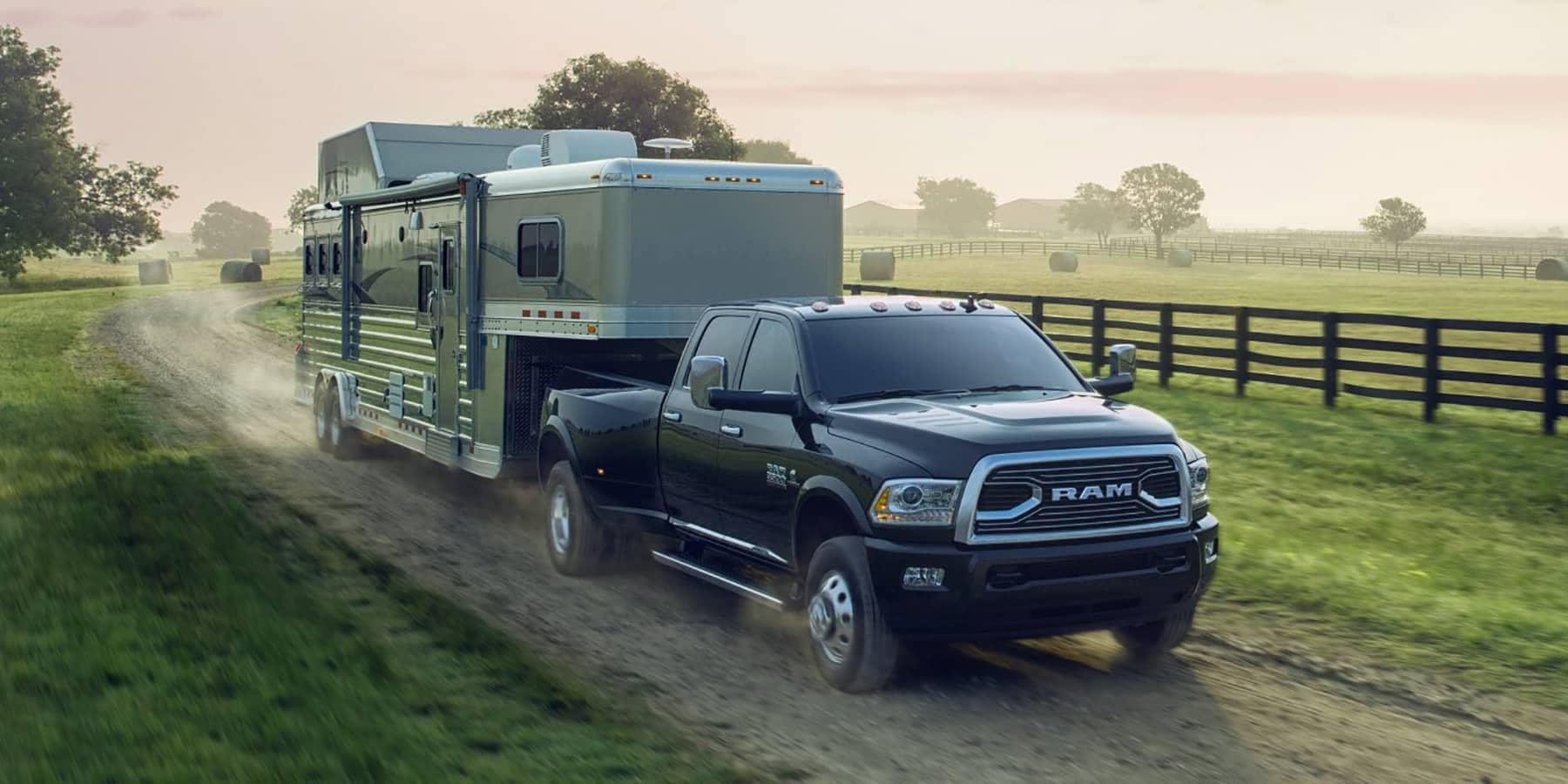 2017 Ram 3500 Limited Towing Trailer