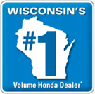 wisconsin's #1 volume Honda dealer