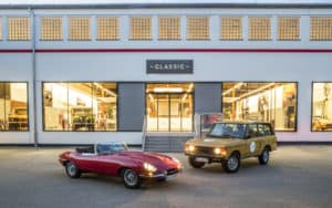Jaguar Land Rover Opens Classic Center in Germany