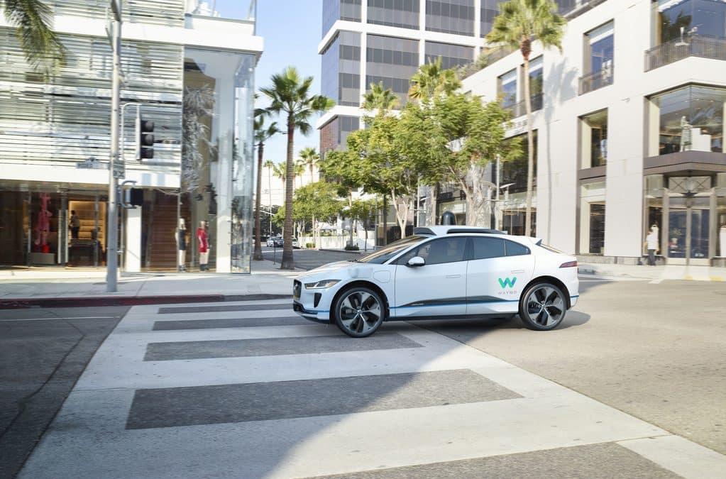 Self-Driving Jaguar
