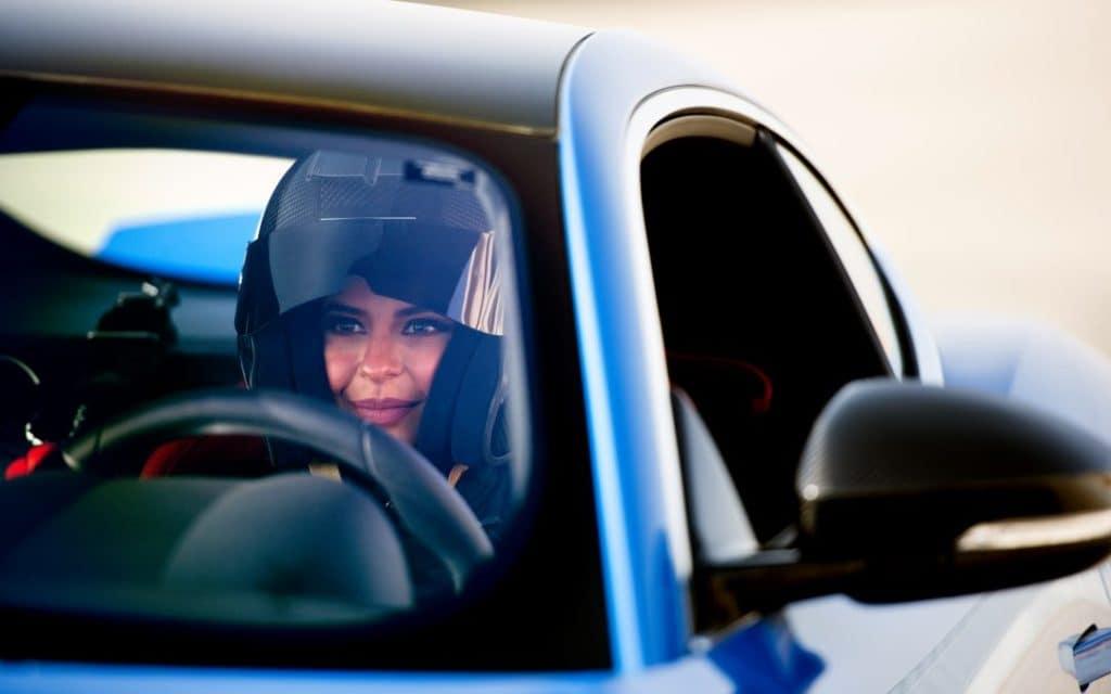Saudi Racer Aseel Al Hamad