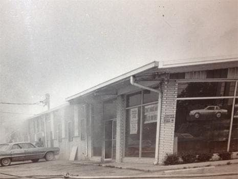 Picture of the old dealership building
