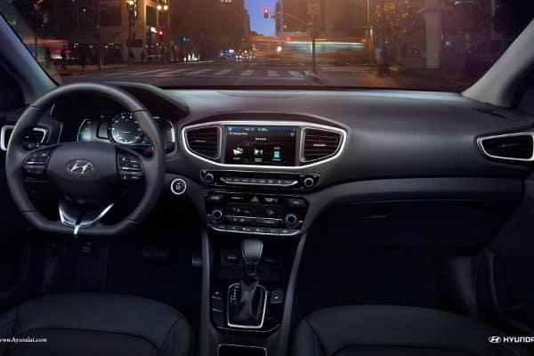 2017 Hyundai Ioniq Interior cockpit