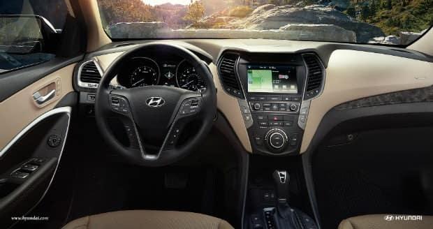 Jackson MS area 2017 Hyundai Santa Fe Sport interior