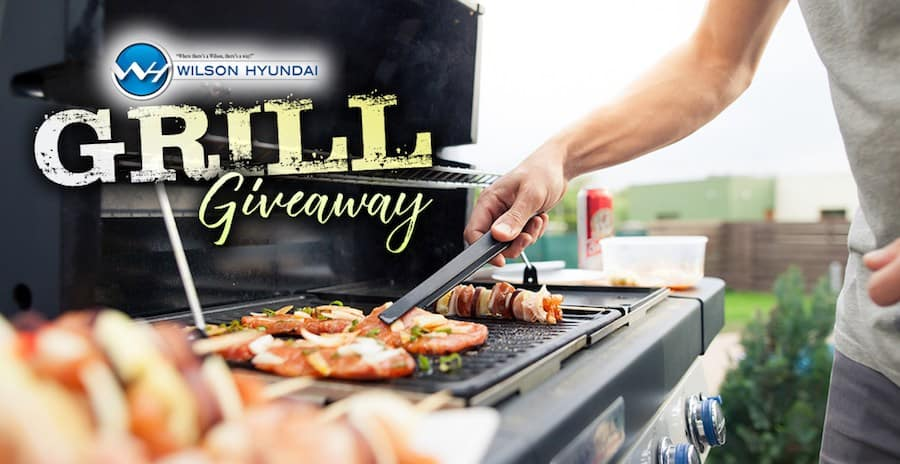 Jackson MS area Hyundai dealer grill giveaway
