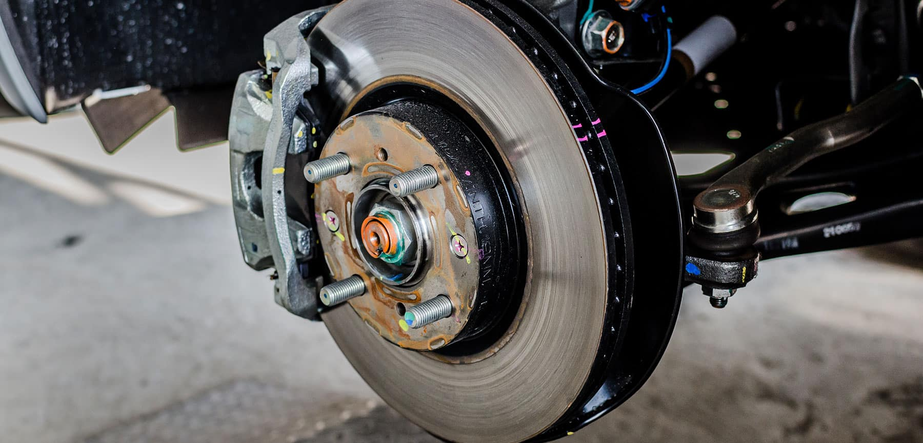 Front Rotor Brakes