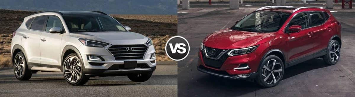 Compare 2020 Hyundai Tucson vs 2020 Nissan Rogue Sport
