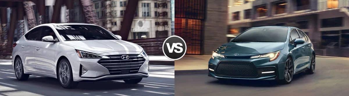 2020 Hyundai Elantra vs 2020 Toyota Corolla